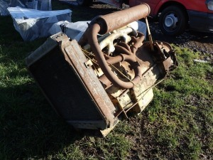 6 cylinder Ford/New Holland tractor engine